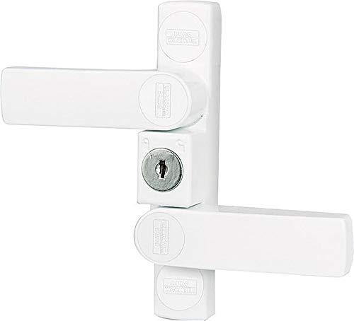 Burg Wächter Fenstersicherung WinSafe–Lock Security Fenster WS22°f1glw weiß