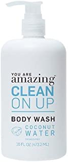 you are AMAZING coconut water body wash 16 oz