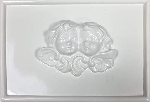 hobby e Blu Stampo Angeli PVC 13x19 cm, Perfetto per colate in Gesso o Marmo