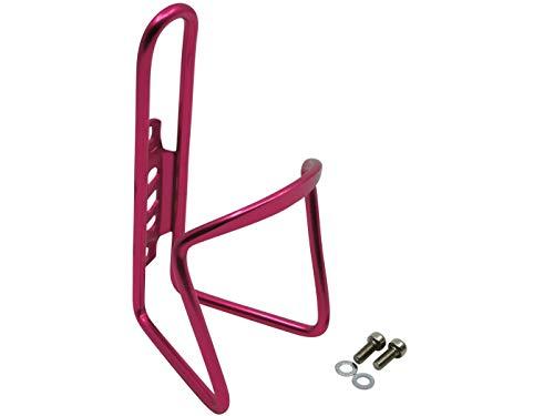 Aluminium Trinkflaschenhalter Pink-Magenta Rennrad Flaschenhalter Fahrrad Getränkehalter
