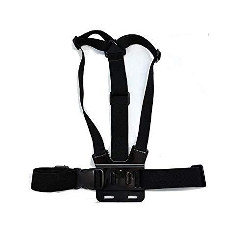 Navitech Adjustable Elastic Body Chest Strap Mount Belt Harness for The Bekhic V90 4K HD WiFi Sports Action Camera