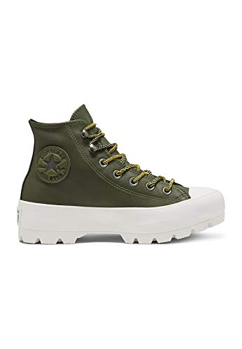 CONVERSE Chuck Taylor All Star Lugged Winter Boot HI Zapatillas Moda Femmes Kaki Zapatillas Altas