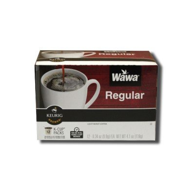 Wawa Regular Coffee K-Cups for Keurig Brewers - 12 Count (Original)