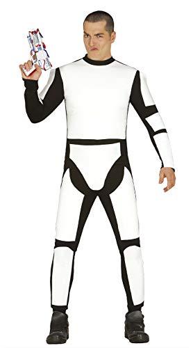 Guirca- Disfraz adulto soldado espacial, Talla 52-54 (84529.0)