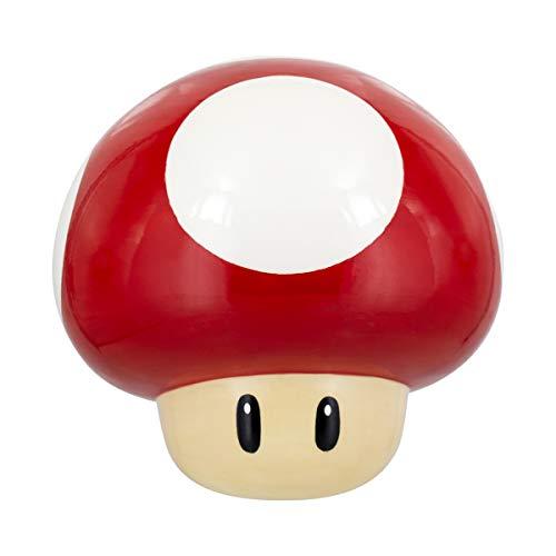 Paladone Mario Keksdose Super Mushroom, Glas