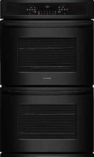 Frigidaire FFET2726TB 27 Inch 7.6 cu. ft. Total Capacity Electric Double Wall Oven with 2 Oven Racks, in Black