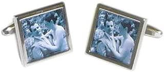 Gemelos Personalizados para Fotos de Boda con Caja de Regalo