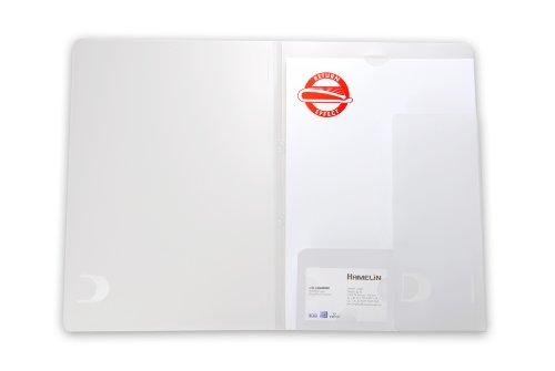 ELBA 100551988 Angebotsmappe 10er Pack mit Ausstanzung für Visitenkarten aus Kunststoff farblos