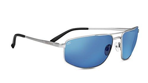 Serengeti Eyewear Sonnenbrille Modugno, Satin Silver/Polarized, 8409