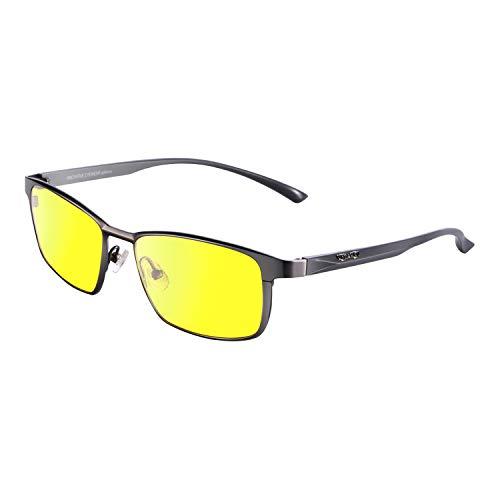 PRiSMA WiESBADEN DRiVE Blaulichtfilter-Brille -für Autofahrer und Motorradfahrer bei Tag und Nacht- bluelightprotect - WB923D