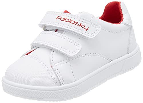 Pablosky 288806, Zapatillas Unisex bebé, Blanco, 20 EU