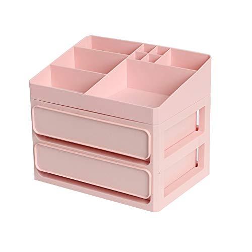JCXOZ Multifunción Organizador Cajones papelería joyería cosméticos de Maquillaje cajones de Almacenamiento Caja de plástico de Escritorio Organizador de cajones Cajas y organizadores de Joyas
