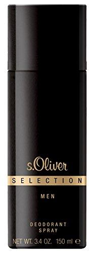 S.Oliver Selection Men homme/men, Deodorant Spray, 1er Pack (1 x 150 g)