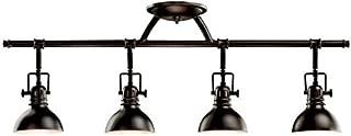 Kichler 7704OZ Rail Light 4-Light Halogen, Olde Bronze