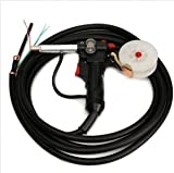 DC24V &Millers MIG Spool Gun Push Pull Feeder Aluminum Welding Torch with 5m Cable