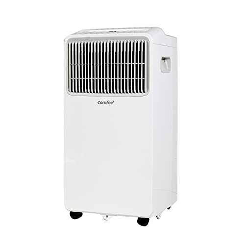 Comfee MPPHA-07CRN7 Climatiseur mobile 980 W, 230 V, blanc, 32,9 x 31,8 x 63,4 cm (BTH) [Classe énergétique A]