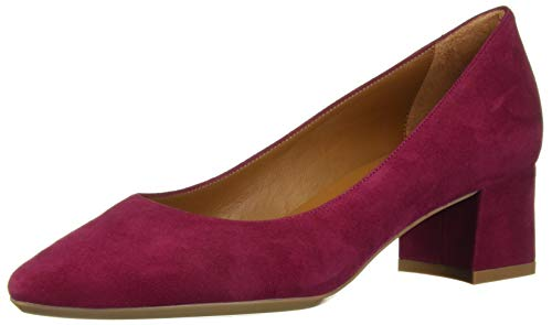 Aquatalia Women's PASHA DRESS SUEDE Pump, cherry, 10.5 M US