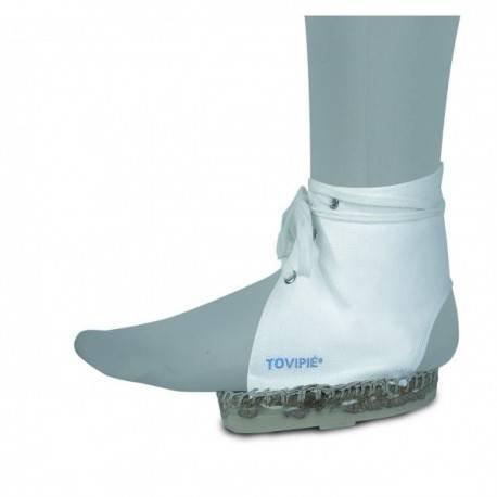 Queraltó Gips laarzen wit | veters om aan te passen | Tovipié dames
