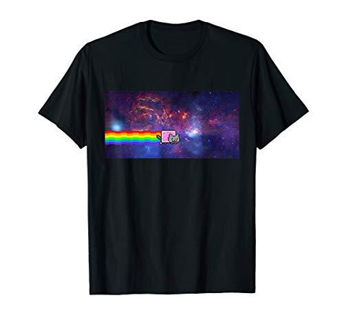 Nyan Cat Space Shirt T-Shirt
