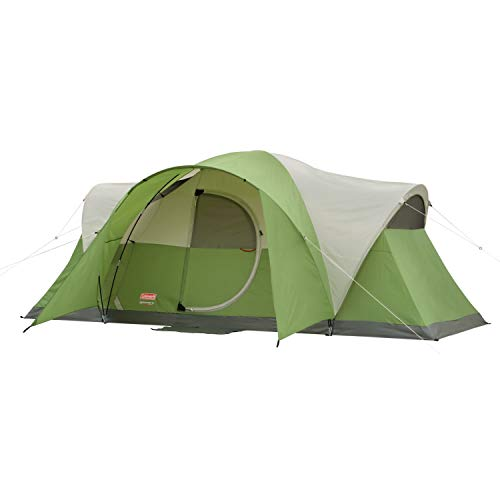 Coleman 8-Person Tent for Camping | Montana Tent with Easy Setup, Green