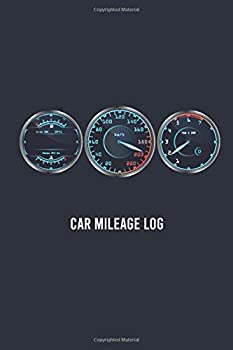 car mileage log  100 page for record vehicle auto mileage logbook car usages tracker auto journal notebook log book for car expense taxes or business size 6x9 inches  vol 5