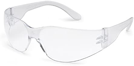 Gateway Safety's Smaller-Sized StarLite SM Safety Glasses, Clear Lens, Clear Temple, (Box of 10)