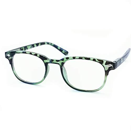 Marc Andrews klassieke leesbril gelamineerd veerbeugel retro vintage leeshulp van 1,0 tot 3,0