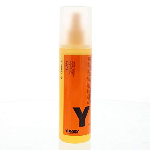 Yunsey - Spray Biphase Protecteur Solaire - Vigorance Sunny (250 mL) - Soin Cheveux Sans Parabènes - Répare et Nourrit - Filtre UVA et UVB