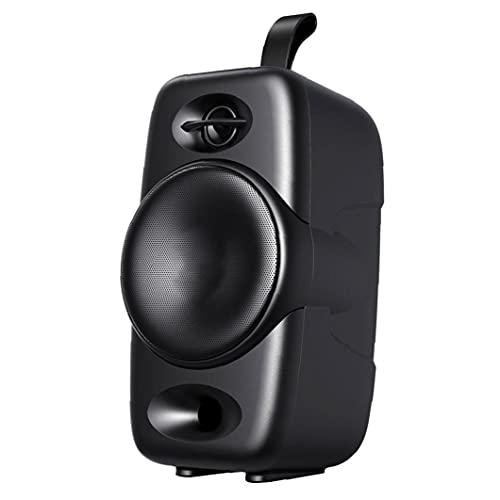 Altavoces portátiles HiFi inalámbrico Altavoz portátil Bass Sound Sound Sound Altavoces de escritorio con HD Black Black