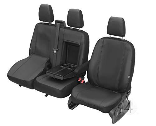 Z4L Sitzbezüge VIP Passgenau geeignet für Ford Transit ab 2014-2+1