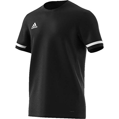 Adidas T19 SS JSY M Camiseta de Manga Corta, Hombre, Black/White, 3XL