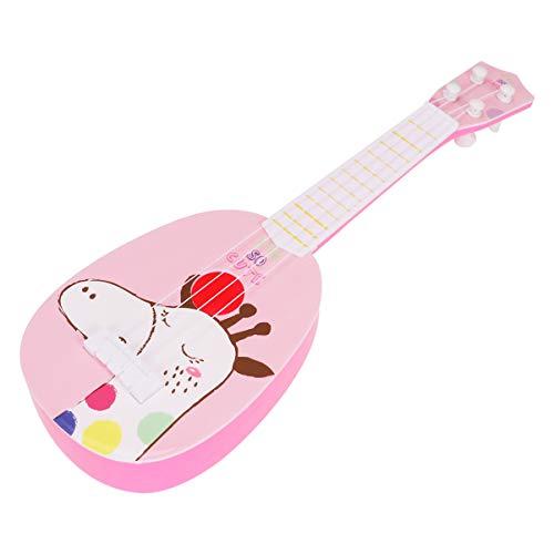 MILISTEN Niños Aprendiendo Guitarra 4 Cuerdas Guitarra Musical Desarrollo Temprano Instrumento de Guitarra de Cuerda Juguete para Niños Niño