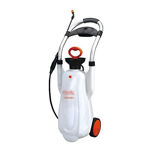 Nebulizzatore A Pressione, Spruzzatore A Mano 12L con Design A Puleggia, Spruzzatore Pressione Giardinaggio, Ugello Regolabile, per Giardinaggio, Pulizia Macchina