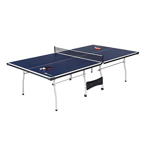 Evaxo 4-Piece Table Tennis Table