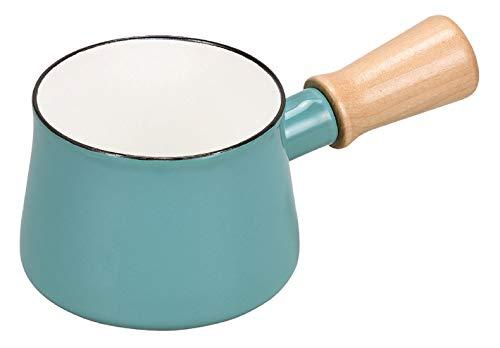 パール金属 ミルクパン 10cm ホーロー ブルー プチっと HB-5067
