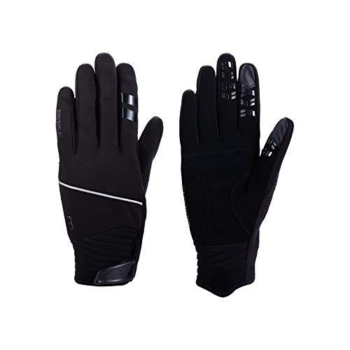 BBB Cyclisme ControlZone Homme et Femme Chauds en Softshell   Gants d'hiver Unisexes Mixte, Noir, XS