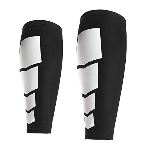 ZumZup Unisex Adult Kompression Beinlinge Beinstulpen Kompressionsstrümpfe Erholung, Sport, Linderung von Wadenschmerzen, Krampfadern 1 Paar