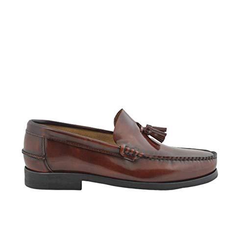 Zapatos Castellanos Marca Benavente Piel borlas Piso...