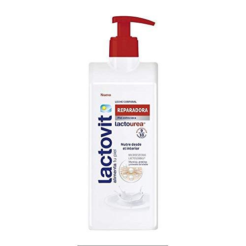 Lactovit - Leche Corporal Reparadora Lactourea con Protein Calcium, para Pieles Secas y Extra Secas - 400 ml