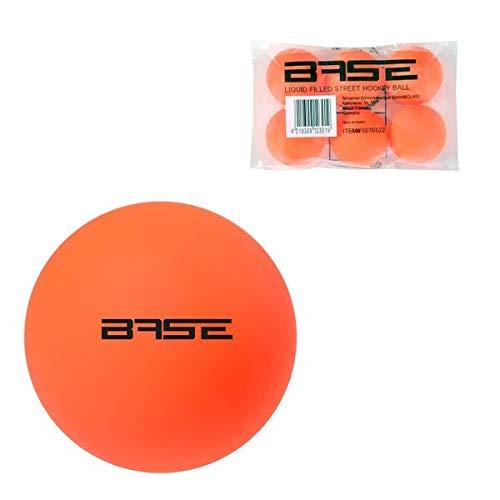 Base Streethockey Ball - Liquid Filled, Farbe:orange