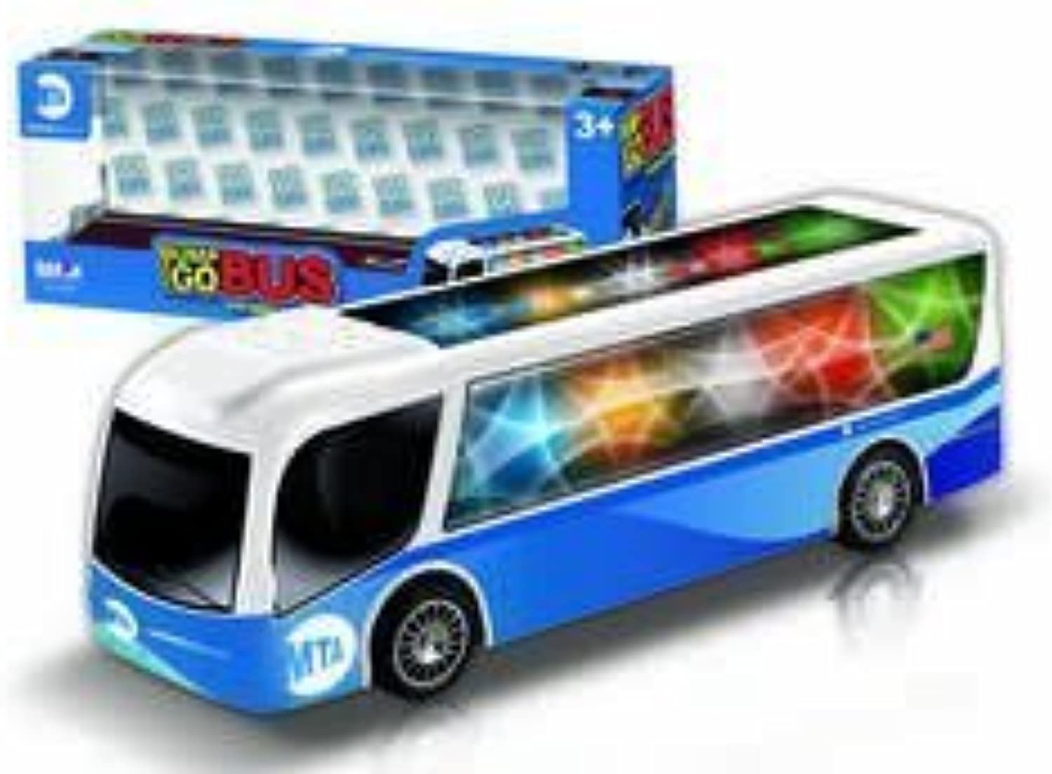 Daron NYC MTA Bump and Go Bus with Lights by Daron World wide Trading Inc.