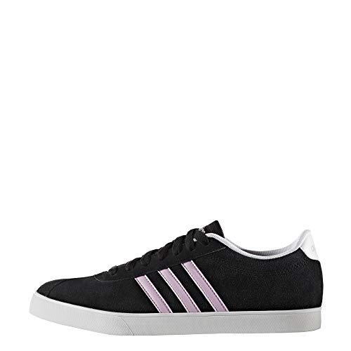 adidas Damen Courtset W Gymnastikschuhe, Schwarz (Negbas/ORQCLA/FTWBLA 000), 36 EU