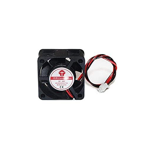 Accesorios de impresora DC 5V / 12V / 24V Enfriador de CPU para computadora Mini ventilador de enfriamiento 40MM 40x40x10mm /...