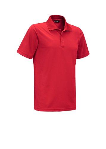 Maier Sports Piquee Programm T-Shirt Manches mi-Longues pour Enfant Rouge Fire 140 cm