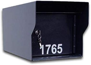 Long Beach Mall Los Angeles Mall Fort Knox M1-LT B Black Mailbox44;