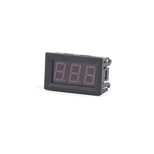 Aexit 5V-120V Rango de medición Pantalla LED Medidor de voltaje para voltímetro digital para bicicletas eléctricas (e6d92ae4a08e322a7f319347e80689b2)