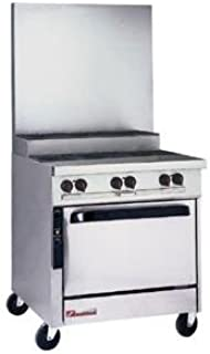Southbend P32D-BBB-SU NG - 32-in Sectional Range w/ 6-Step-Up Burners, Manual Controls, Oven, NG