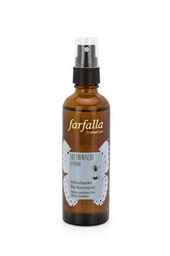 Farfalla Bio-Raumspray Sei Erfrischt Zitrone - 75ml