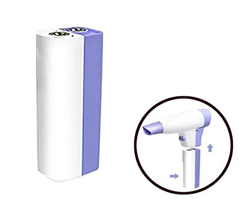 YTcoo Portatile Senza Fili Asciugacapelli, 4500mAh Ricaricabile Batteria al Litio Multifunzione per Casa, Viaggi All'Aperto[Classe di Efficienza Energetica A]