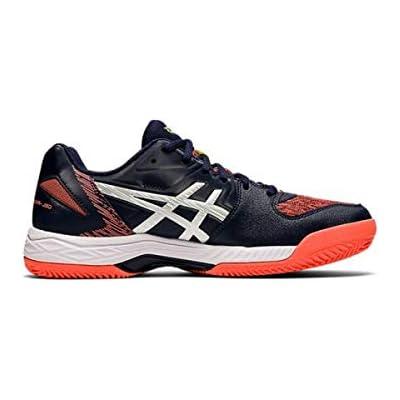 Asics Gel-Padel Exclusive 5 SG, Sneaker Hombre, Peacoat/Blanco, 46 EU
